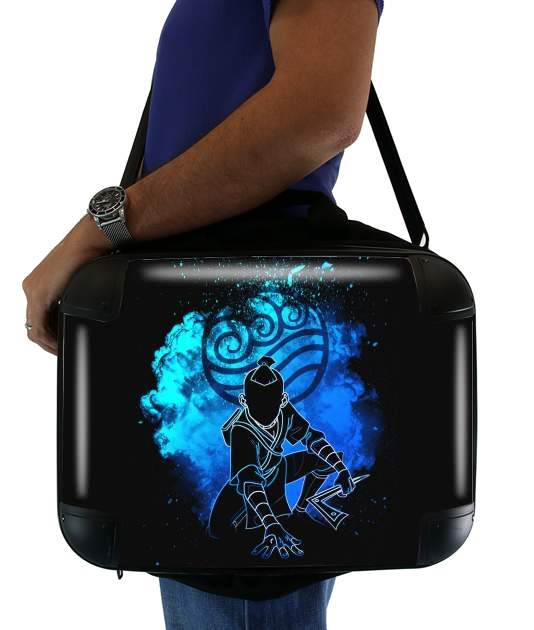 "Soul of the Waterbender for Laptop briefcase 15"" / Notebook / Tablet"