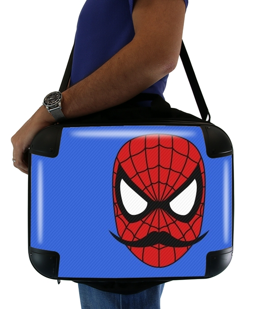 "Spider Stache for Laptop briefcase 15"" / Notebook / Tablet"
