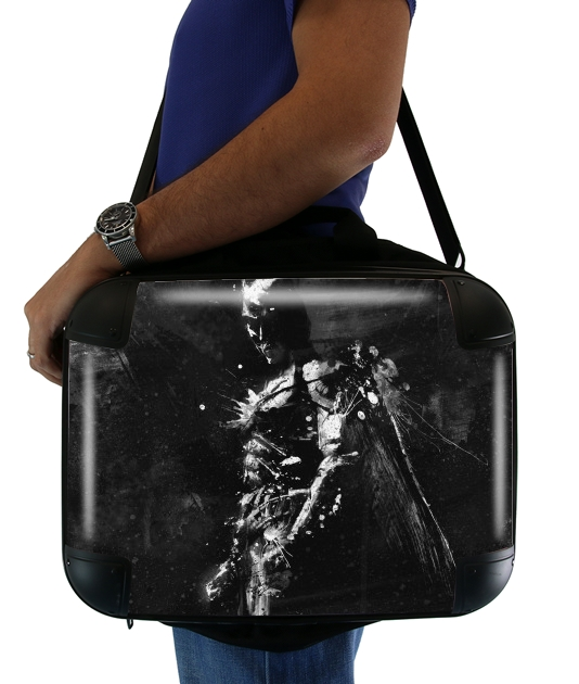 "Splash Of Darkness for Laptop briefcase 15"" / Notebook / Tablet"