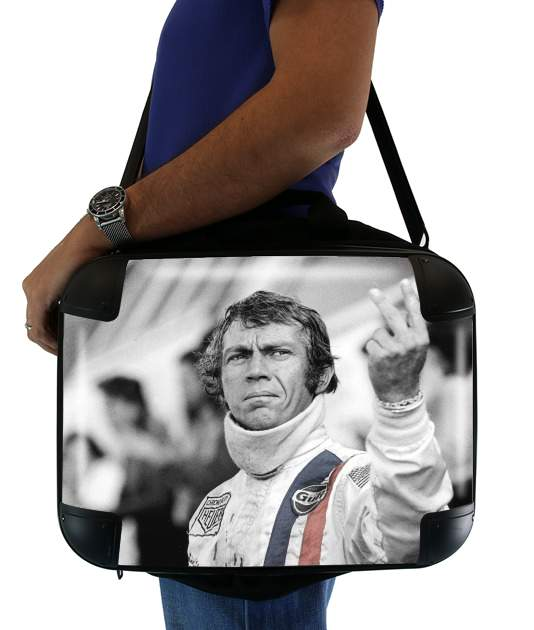 "steve mcqueen for Laptop briefcase 15"" / Notebook / Tablet"