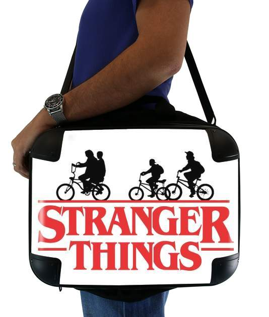 "Stranger Things by bike for Laptop briefcase 15"" / Notebook / Tablet"