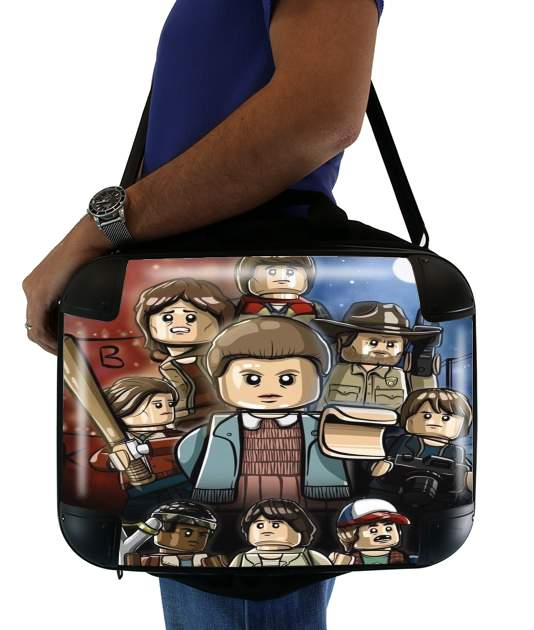 "Stranger Things Lego Art for Laptop briefcase 15"" / Notebook / Tablet"