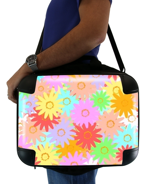 "Summer BLOOM for Laptop briefcase 15"" / Notebook / Tablet"