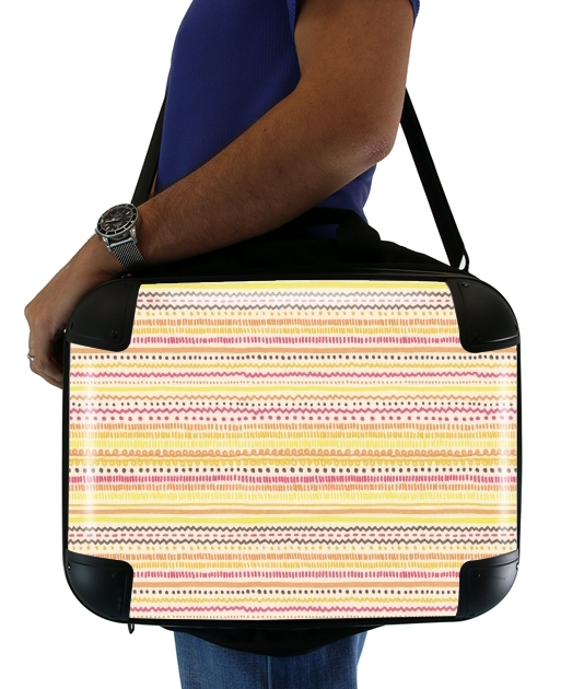 "Summer Pattern for Laptop briefcase 15"" / Notebook / Tablet"