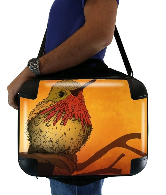 "Sunset Bird for Laptop briefcase 15"" / Notebook / Tablet"