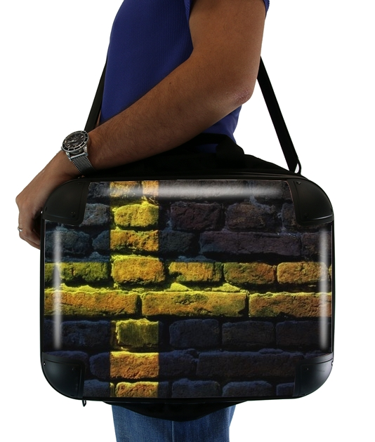 "Sweden Brickwall for Laptop briefcase 15"" / Notebook / Tablet"