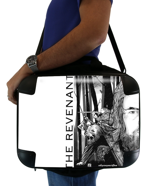 "The Bear and the Hunter Revenant for Laptop briefcase 15"" / Notebook / Tablet"