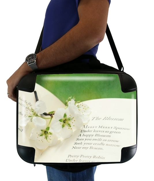 "The Blossom for Laptop briefcase 15"" / Notebook / Tablet"