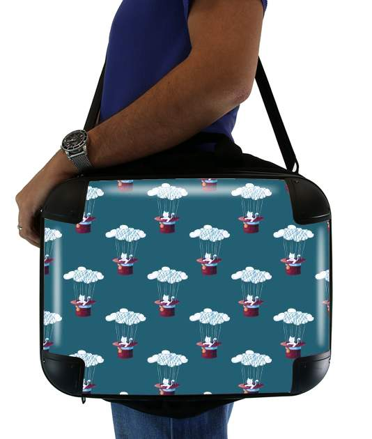 "The Cat Traveling in Dreams for Laptop briefcase 15"" / Notebook / Tablet"