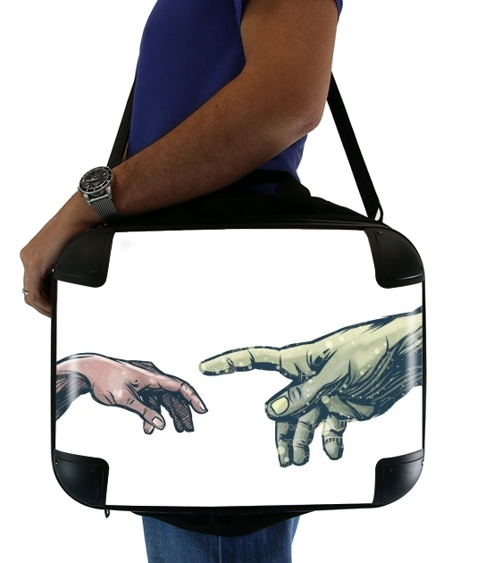 "The Creation of Dr. Banner for Laptop briefcase 15"" / Notebook / Tablet"