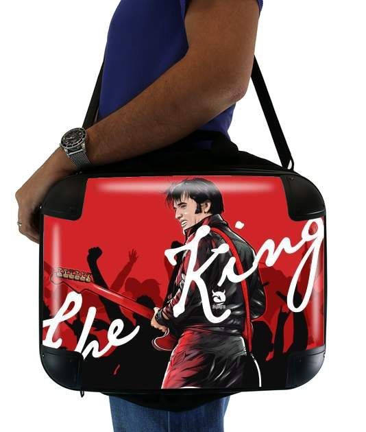 "The King Presley for Laptop briefcase 15"" / Notebook / Tablet"