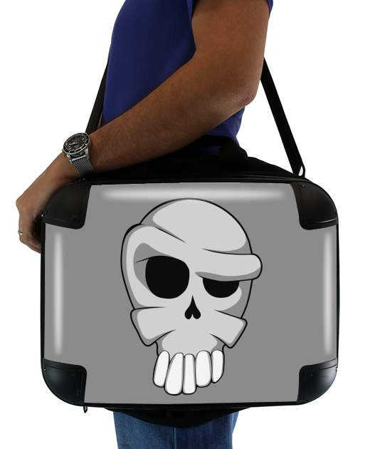 "Toon Skull for Laptop briefcase 15"" / Notebook / Tablet"