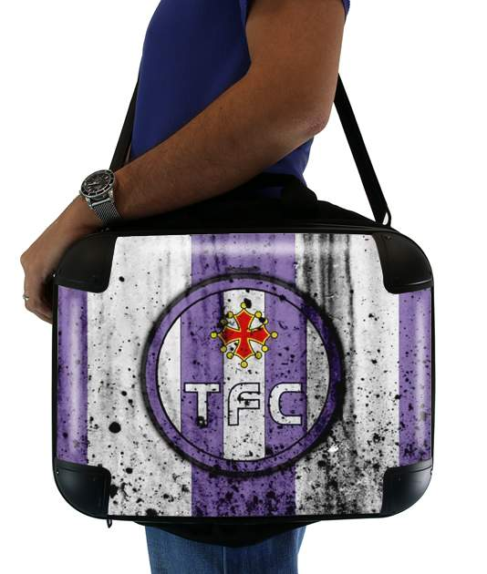 "Toulouse Football Club Maillot for Laptop briefcase 15"" / Notebook / Tablet"