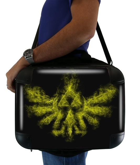 "Triforce Smoke Y for Laptop briefcase 15"" / Notebook / Tablet"