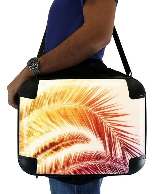 "TROPICAL DREAM - RED for Laptop briefcase 15"" / Notebook / Tablet"