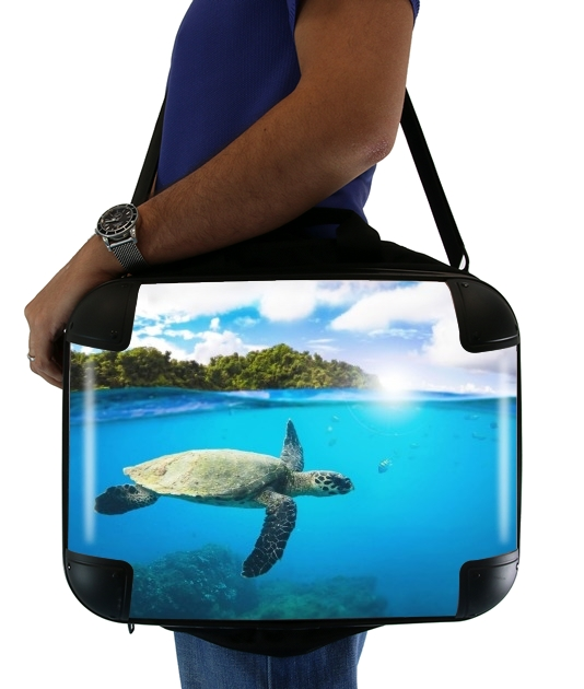 "Tropical Paradise for Laptop briefcase 15"" / Notebook / Tablet"