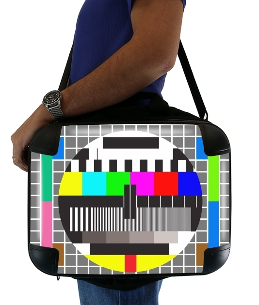 "tv test screen for Laptop briefcase 15"" / Notebook / Tablet"