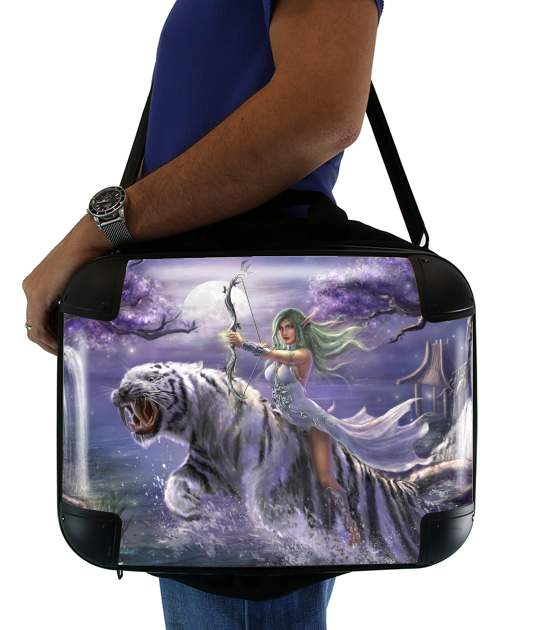 "Tyrande Whisperwind World Of Warcraft Art for Laptop briefcase 15"" / Notebook / Tablet"