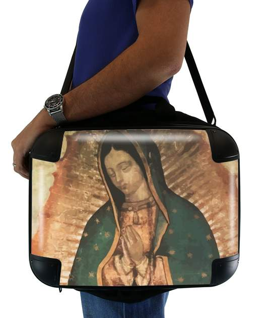 "Virgen Guadalupe for Laptop briefcase 15"" / Notebook / Tablet"