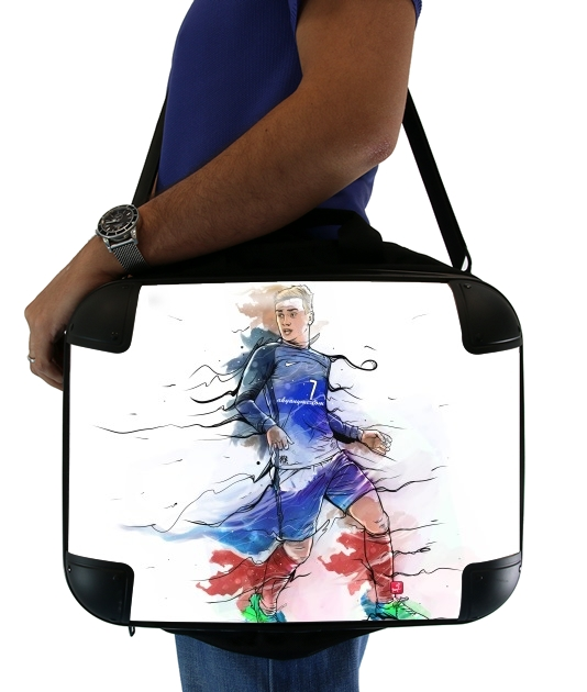 "Vive la France, Antoine!  for Laptop briefcase 15"" / Notebook / Tablet"