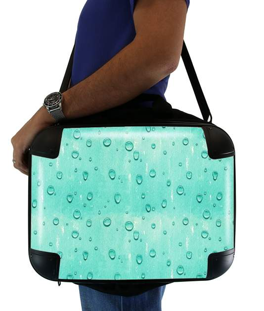 "Water Drops Pattern for Laptop briefcase 15"" / Notebook / Tablet"