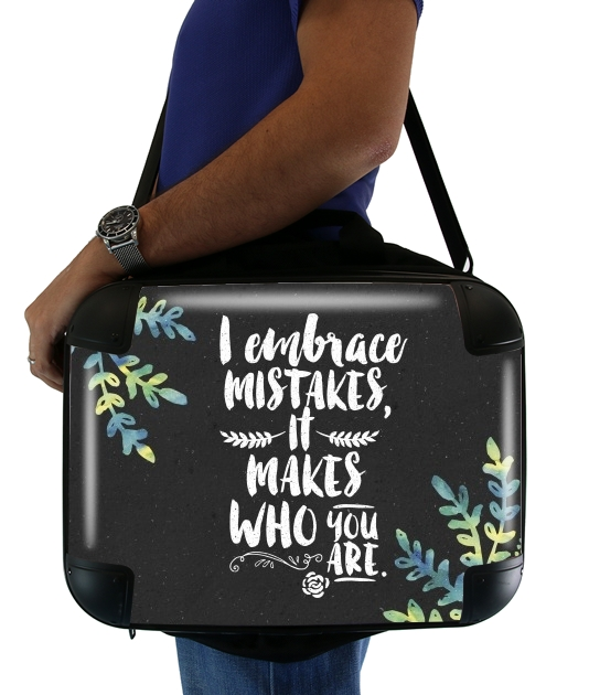 "Who you are for Laptop briefcase 15"" / Notebook / Tablet"