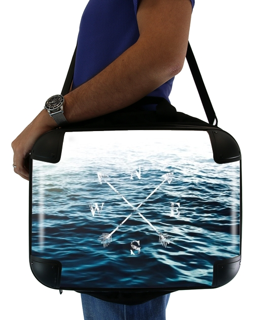 "Winds of the Sea for Laptop briefcase 15"" / Notebook / Tablet"