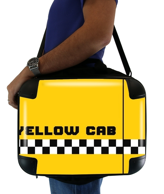 "Yellow Cab for Laptop briefcase 15"" / Notebook / Tablet"