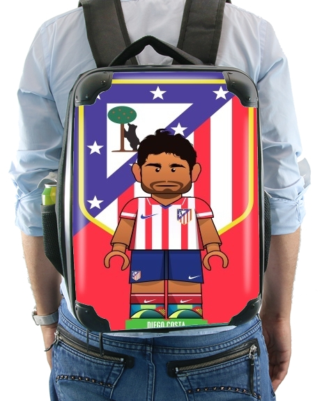 Lego Football: Atletico de Madrid - Diego Costa for Backpack