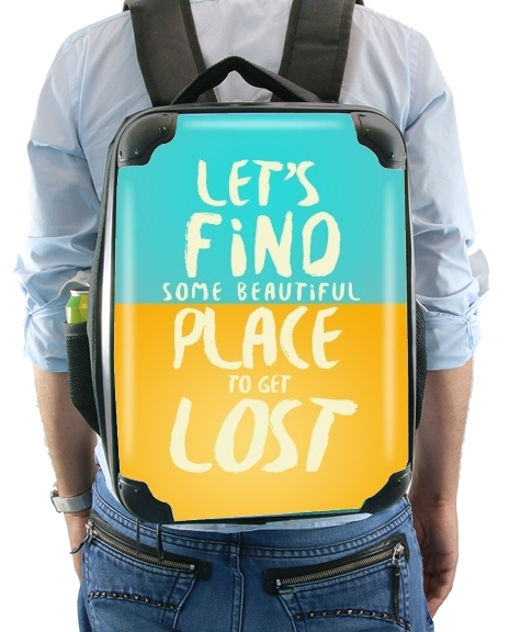 Let's find some beautiful place for Backpack