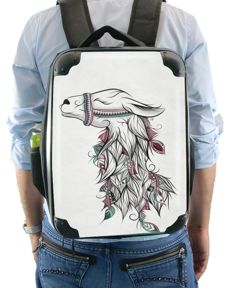 Llama Happy for Backpack
