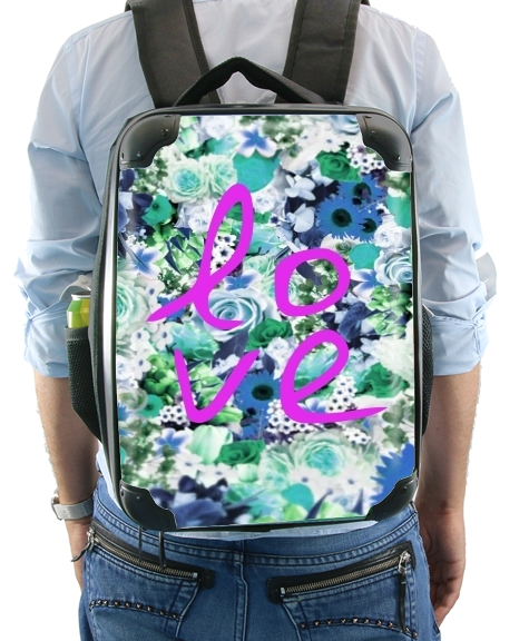 Love Floral Green for Backpack