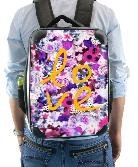 Vintage Love in Purple for Backpack