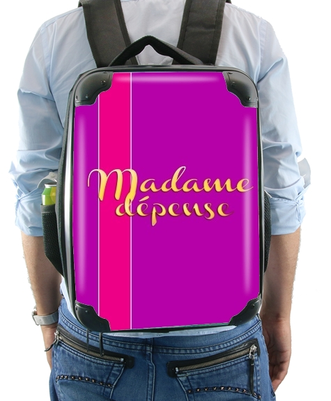 Madame dépense for Backpack