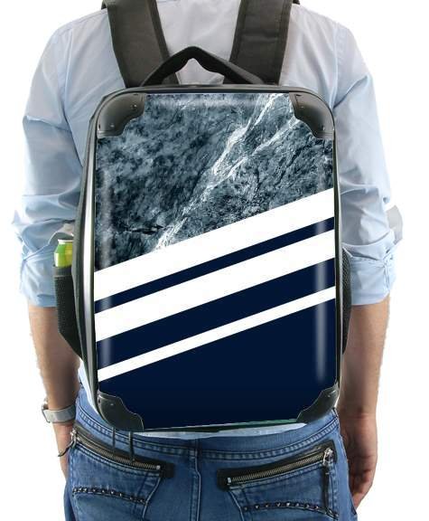 Marble Navy for Backpack