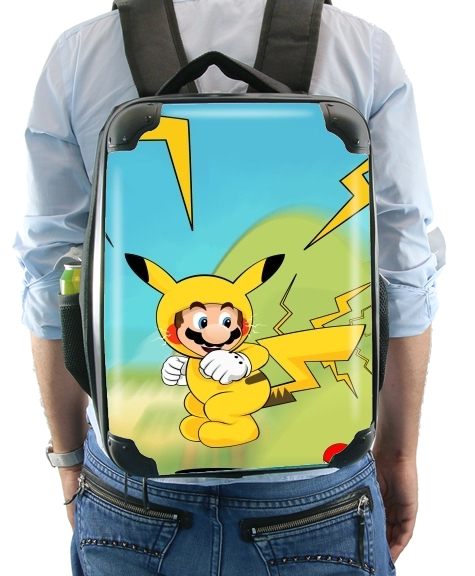 Mario mashup Pikachu Impact-hoo! for Backpack