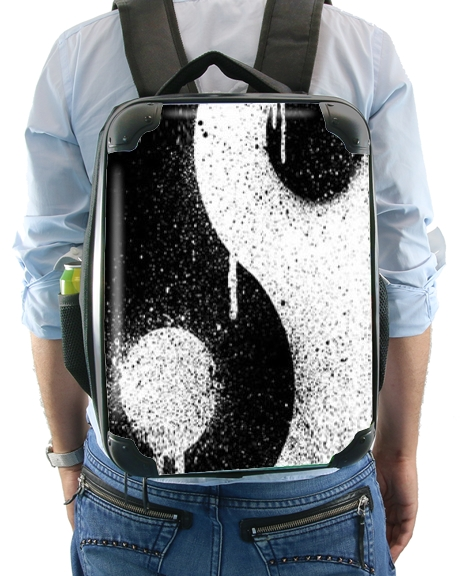 Graffiti Zen Master Yin Yang for Backpack