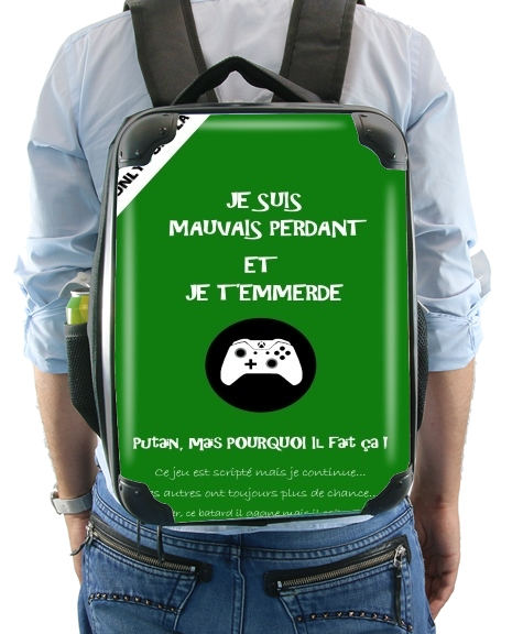 Mauvais perdant - Vert Xbox for Backpack