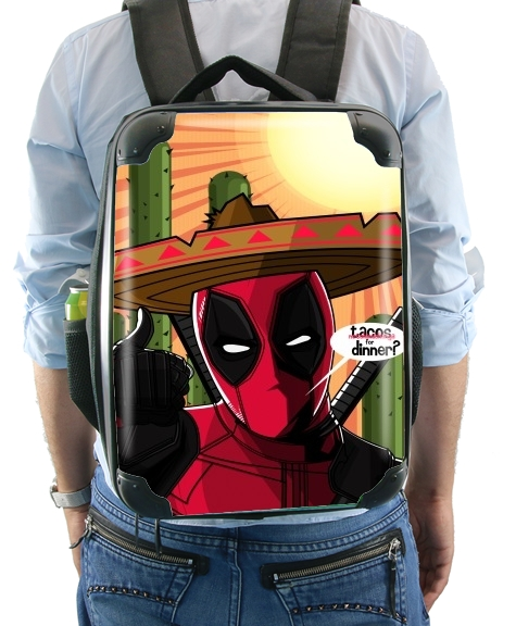 Mexican Deadpool for Backpack