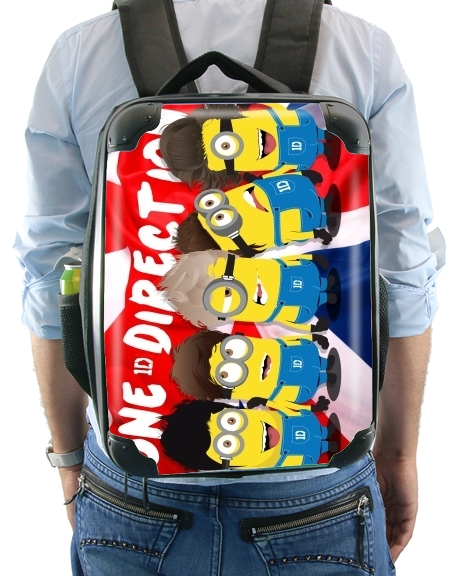 Minions mashup One Direction 1D for Backpack