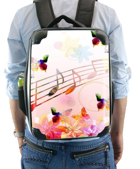 Musical Notes Butterflies for Backpack