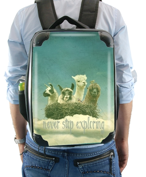 NEVER STOP EXPLORING for Backpack