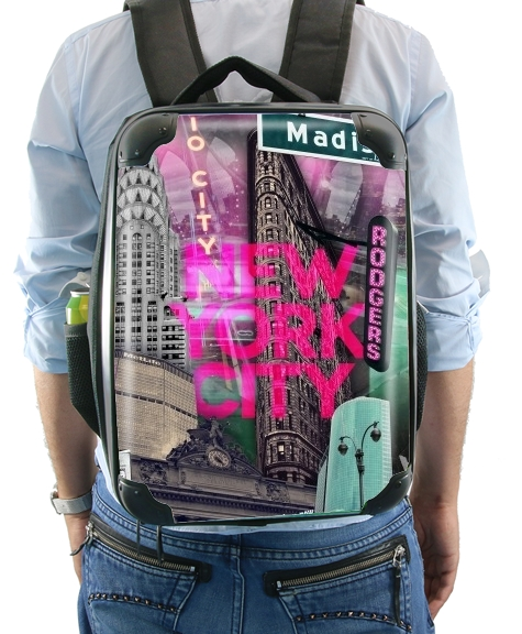 New York City II [blue] for Backpack