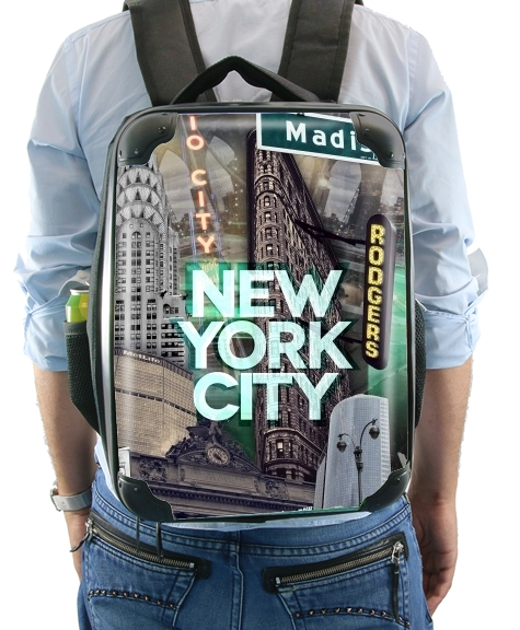 New York City II [green] for Backpack