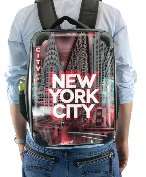 New York City II [red] for Backpack