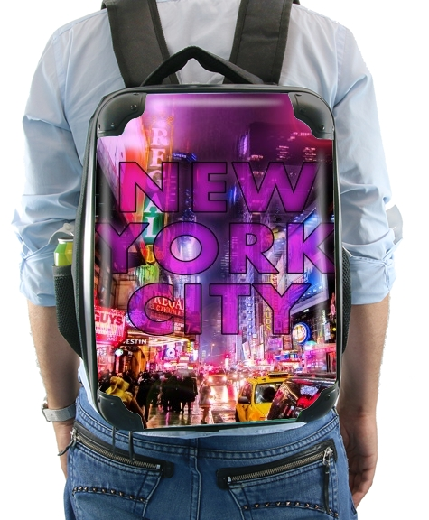 New York City - Broadway Color for Backpack