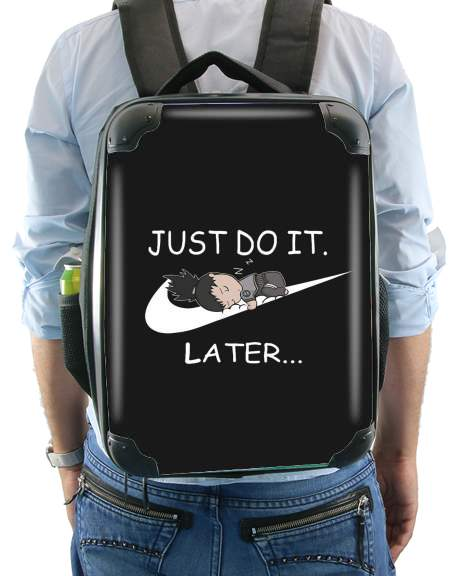 Nike Parody Just do it Later X Shikamaru for Backpack