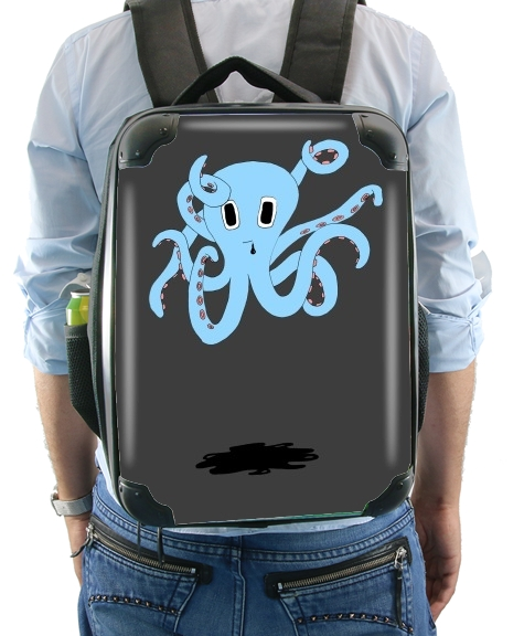 octopus Blue cartoon for Backpack