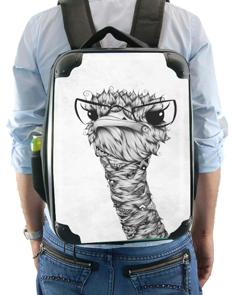 Ostrich for Backpack