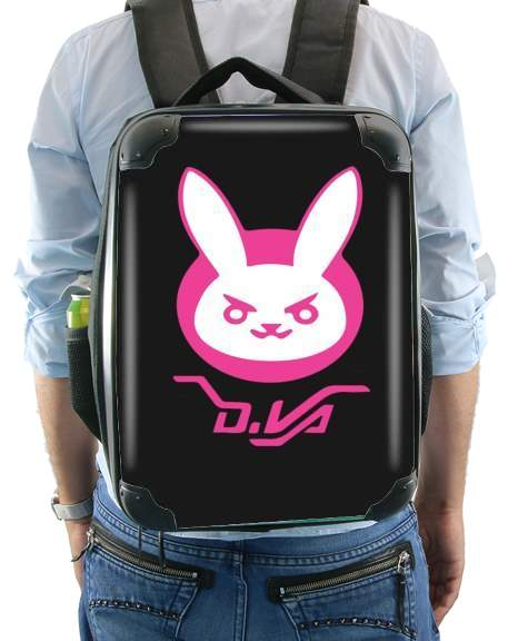 Overwatch D.Va Bunny Tribute for Backpack
